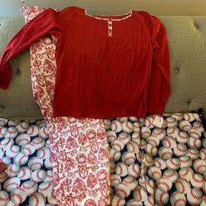 Talbots Pajama Set